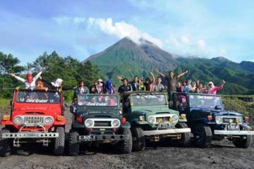 Excursion au volcan Merapi et à la grotte de Jomblang au départ de...