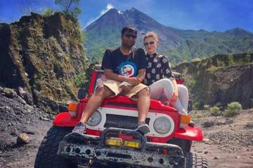 Full-Day Merapi Volcano and Jomblang Cave Tour by Jeep from Yogyakarta