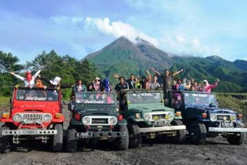 Merapi Volcano and Jomblang Cave Tour...