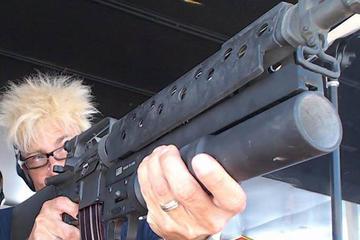 Schießerfahrung im Freien in Las Vegas