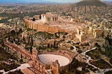 Excursion privée d'une demi-journée à Athènes en monospace