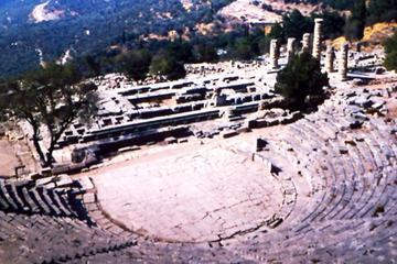 Ganztägige Tour im Kleinbus ab Athen nach Delphi