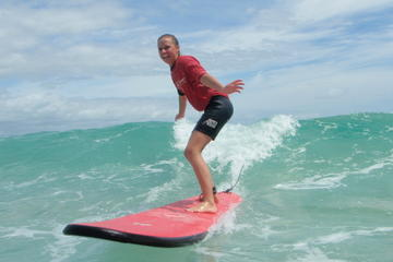 Byron Bay Surfing Lesson with Local Instructor Gaz Morgan