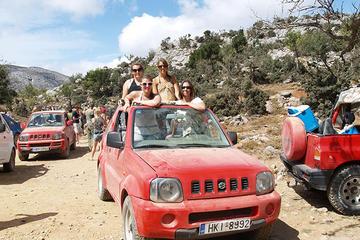 Jeepsafari naar het Lassithi-plateau ...