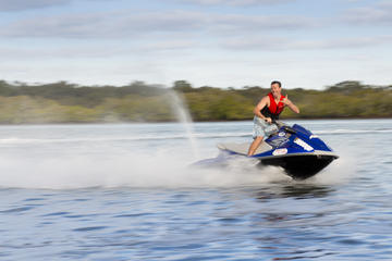 Moreton Bay Marine Park Jet Ski Tour from Caloundra