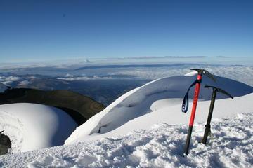 Overnight Climbing Cayambe Volcano