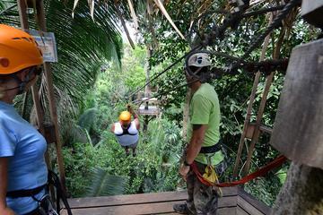 Belize City Shore Excursion: Canopy Zipline Tour