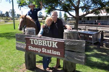 Priv. Tagesausflug ab Sydney: Tobruk-Schaffarm inkl...