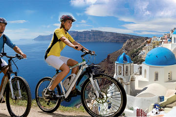 Santorini Tour by Electric Bike