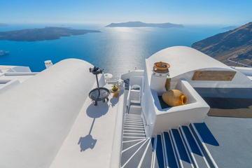 Circuit romantique privé de 9nuits à Athènes, Santorin et sur la...