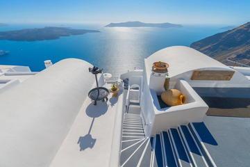 Tour privato con 9 romantiche notti ad Atene, Santorini e sulla Costa