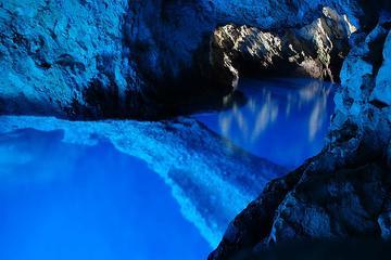 Excursion à la grotte bleue et vers...