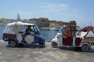 Gallipoli Tuk Tuk Sightseeing Tour with Visit to Punta della Suina...