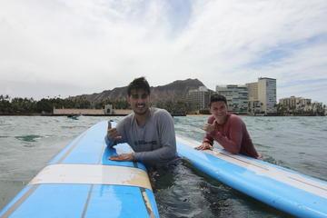 Leçon de surf individuelle: leçon de surf de deux heures