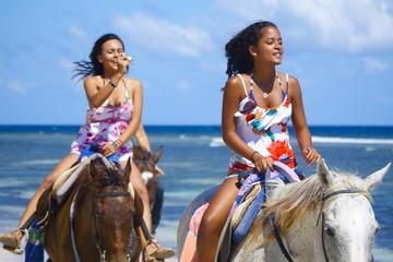 Blue Hole and Horseback Riding Adventure from Ocho Rios