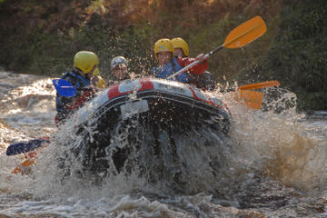 White Water Rafting and Cliff Jumping in the Scottish Highlands