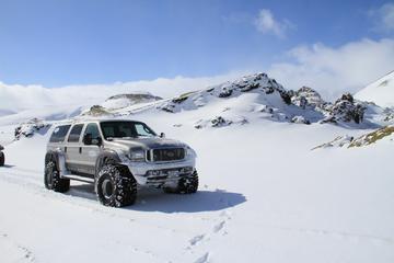 Dagstur for små grupper fra Reykjavik med super-jeep: Seværdigheder i...