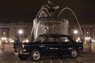 Paris Left Bank Tour by 1963 Peugeot 404