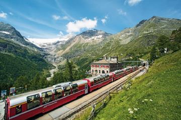 Excursão Independente de 3 dias no Bernina Express saindo de Genebra