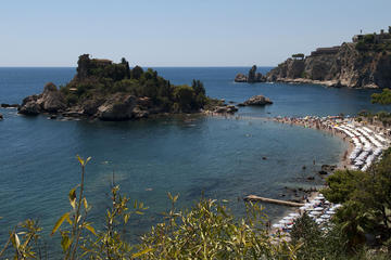 Taormina and Castelmola from Messina Small Group Tour
