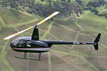 Hunter Valley Broken Back Range Helicopter Flight from Cessnock