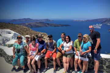 Santorini 5-Hour Island Tour with Wine Tasting