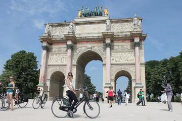 Visite des hauts lieux de Paris en vélo