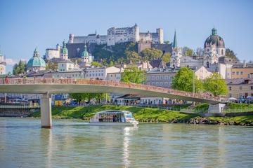 Besichtigungs-Bootsfahrt auf der Salzach in Salzburg