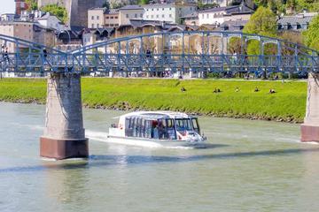 Visita ao Palácio de Hellbrunn e cruzeiro pelas cidades antigas em...