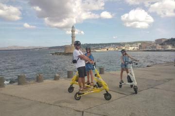 Private Tour: Chania Highlights with Trikke Ride