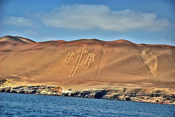 Ballestas Islands and Paracas Reserve from San Mar