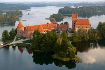 Voo de balão de ar quente em Trakai...