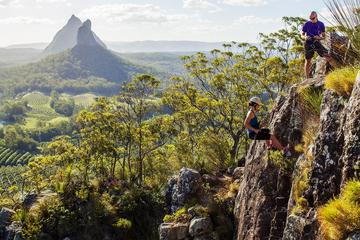 Glass House Mountains Abseiling...
