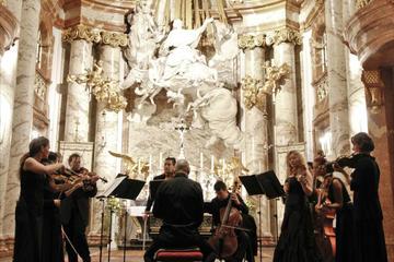 Konsert med De fyra årstiderna av Vivaldi i Karlskirche i Wien