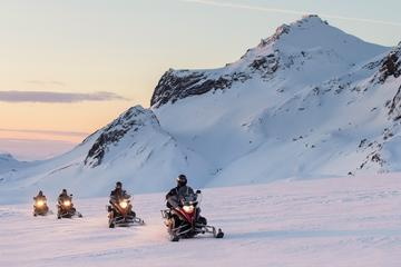 Snowmobile Adventure on Langjökull Glacier from Gullfoss