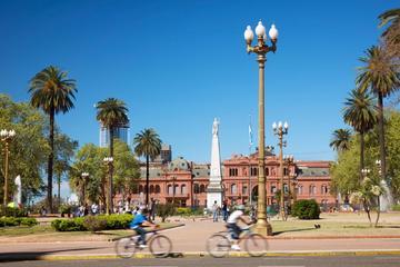 Gemeinsame Stadtrundfahrt durch Buenos Aires