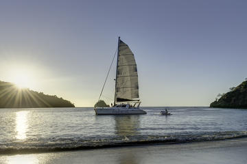 Sunset Catamaran  Sailing Flamingo Beach
