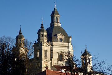 Full Day Winter Adventure From Vilnius: Kicksledding and Sightseeing in Kaunas