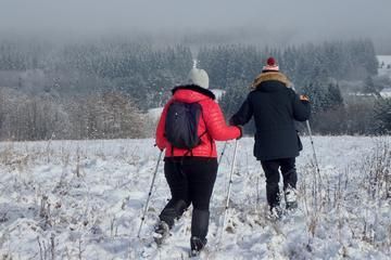 Half-Day Snowshoe Trip To Neris River Valley and UNESCO Heritage Site Kernave