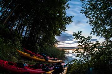 Private Night Kayak Tour in Trakai from Vilnius