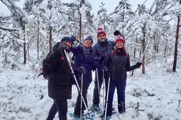 Scenic Snowshoe Hike in Trakai From Vilnius
