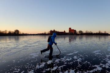 Trakai Winter Adventure with Kicksledge