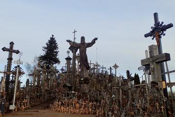 Vilnius - Riga transfer with stop at Hill Of Crosses