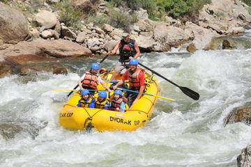 Full Day Salida Canyon Rafting Tour