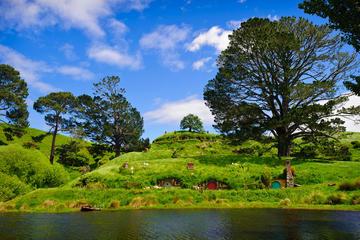 Excursion d'une journée complète à Rotorua et Hobbiton au départ...
