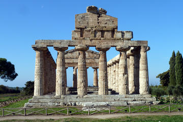 Salerno and Paestum Full-day Coach...