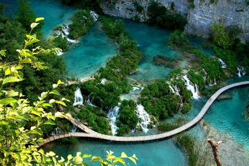 Natural Plitvice Lakes National Park...