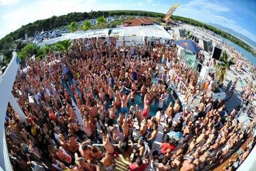 Traslado en minibús a VIP a las fiestas en la playa de Zrće en Isla...