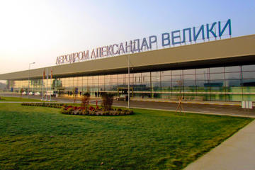 Departure Transfer: Hotel to Skopje Airport SKP