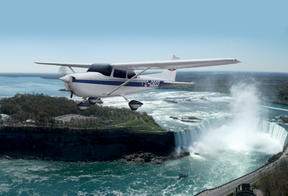 Air Taxi and Tour from Niagara - Toronto Including Ground Transport...